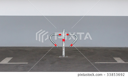 Metal barrier for private parking 33853692