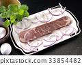 steak, beefsteak, beef 33854482