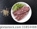 steak, beefsteak, beef 33854488