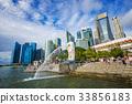 City view of Singapore  33856183