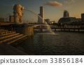 City view of Singapore  33856184