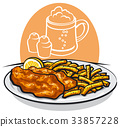 fish and chips 33857228