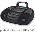 tape recorder boombox 33857245