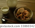 taro, cuttlefish, squid 33860342