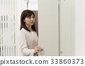 女員工打開儲物櫃 33860373