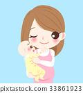 婴儿 宝宝 女性 33861923