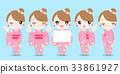 woman wear kimono 33861927