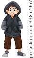 Boy in gray sweatshirt 33862967