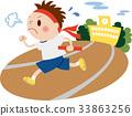 운동회 달리기하는 남자 33863256