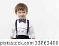 어린이, 나비넥타이, 소년 33863400