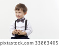 어린이, 나비넥타이, 소년 33863405