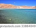 lake, saline, mountain 33864049