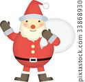 벡터, 크리스마스, 이브 33868930