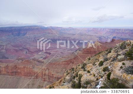 Navajo Point, Grand Canyon, Arizona 33870691