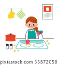 kitchen, kitchens, cleaning 33872059