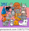 comics cats cartoon characters group 33872779