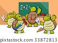 turtle cartoon classroom 33872813