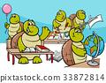 turtle pupil cartoon 33872814