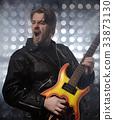 guitar, rock, guitarist 33873130
