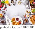 Assorted healthy breakfast 33875381