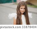 girl, dress, angel 33878404