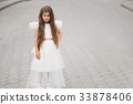 girl, dress, angel 33878406
