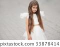 girl, dress, angel 33878414