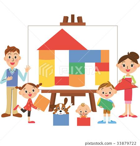 家庭 家族 家人 33879722