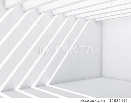 Abstract empty interior, cg background 33885413