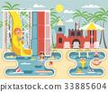 Vector illustration cartoon characters children 33885604