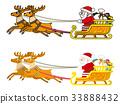 圣诞老人 圣诞老公公 圣诞节 33888432