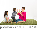 parenthood, parent and child, older sister and younger brother 33888734