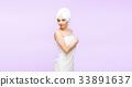 people, towel, woman 33891637