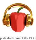 bell pepper headphones 33891933