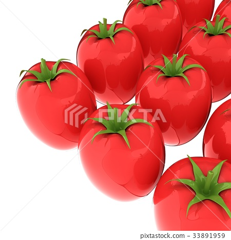 tomato. 3d illustration 33891959