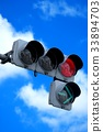 交通信號 紅綠燈 交通燈 33894703