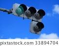 交通信號 紅綠燈 交通燈 33894704