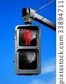 交通信號 紅綠燈 交通燈 33894711
