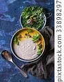 Mushroom cream soup 33898297