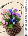 화초, 가을, 꽃꽂이 33898521