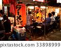 하카타 이미지 나카스의 포장 마차 풍경 33898999