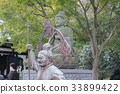 stone statue, bronze statue, get angry 33899422