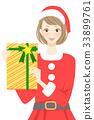 산타클로스, 산타 할아버지, 선물 33899761