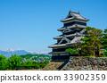 天守阁 松本城 日本 33902359