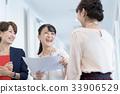 นักธุรกิจหญิงอาชีพสำนักงานลำลอง 33906529