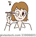 眼线膏 眼线笔 女性 33906603