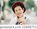 붉은 베레모 수석 여성 33906733