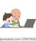教PC的老年人 33907926
