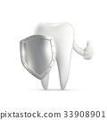 牙齿 矢量 矢量图 33908901