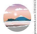 enoshima, dawn, morning 33910013